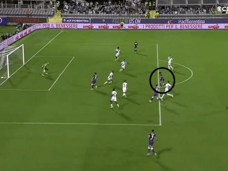 Video: Nico González está intratable y ya metió otro gol en Fiorentina