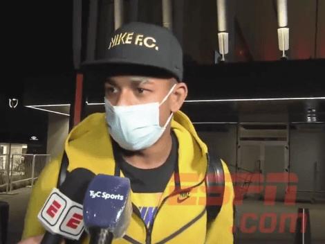 Picantes declaraciones de Villa al llegar a Argentina que lo alejan de Boca