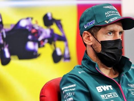 Sebastian Vettel mostra irritação com direção de prova após acidente