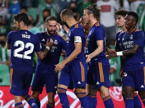 Real Madrid sufrió ante Betis pero triunfó por un golazo de Dani Carvajal