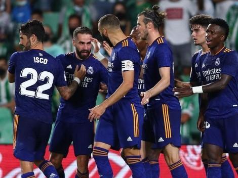 Dani Carvajal volvió con gol y triunfo para Real Madrid sobre Real Betis