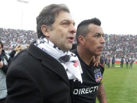 """Esteban Paredes y su salida de Colo Colo: """"No me lo imaginé nunca"""""""