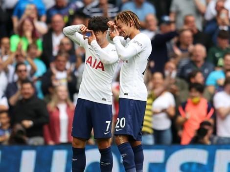 Tottenham venció y es líder en solitario de la Premier League