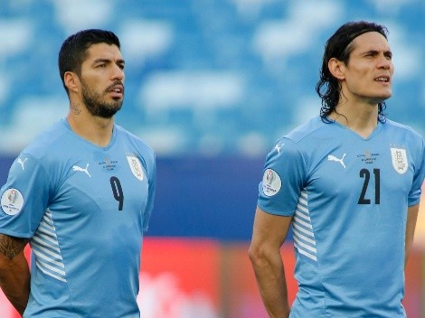 Uruguay pierde a Suárez y Cavani para las Eliminatorias y ya convocó a sus reemplazos