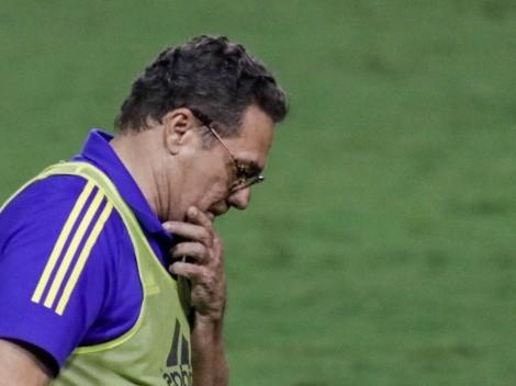 Luxemburgo sai em defesa de atacante do Cruzeiro