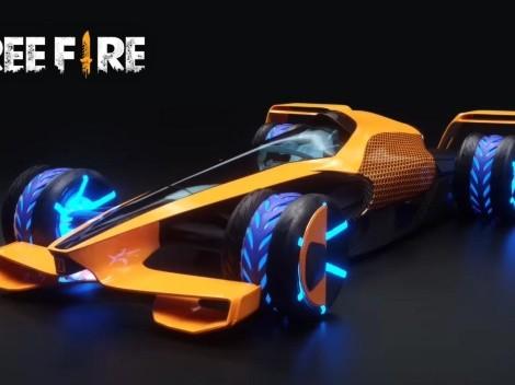 Garena lanzará un auto futurista en Free Fire por su colaboración con McLaren