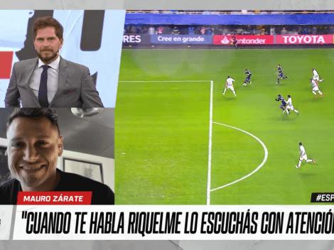 """Mauro Zárate: """"Cuando Miguel me puso de 9 no toqué una pelota"""""""