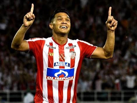 """El mensaje de Teo Gutiérrez para un jugador de River: """"Tiene que mostrar rebeldía"""""""