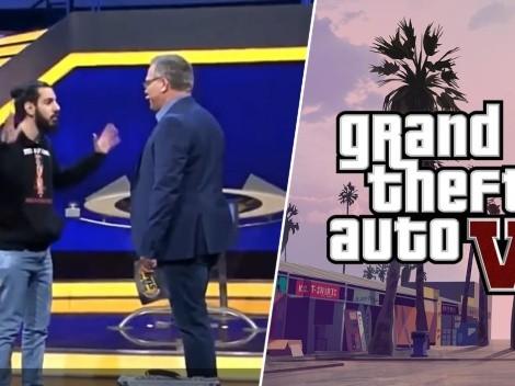 Video viral: gamer se vuelve loco y entra a un set de TV a los gritos por el GTA 6