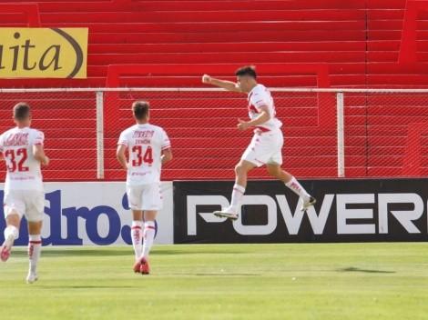 Un gol tempranero de Cordero sirvió para que Unión derrote a Argentinos en Santa Fe