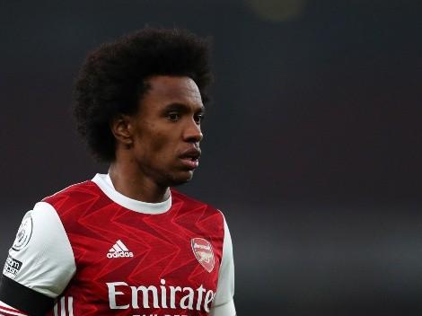 El salario millonario que Willian le perdona a Arsenal para volver al fútbol brasileño