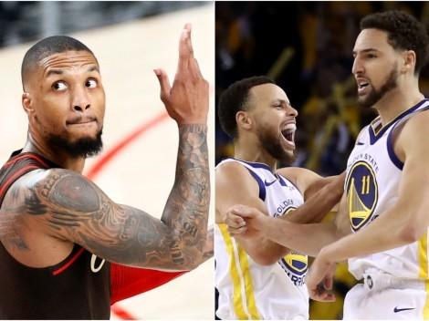 Los Warriors estuvieron a una selección de crear el trío más letal de la NBA