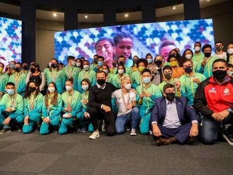 Cerimônia em SP homenageia atletas que estiveram em Tóquio