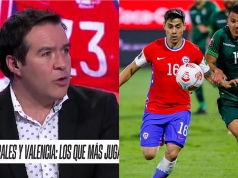 Caamaño no se explica cómo no está Felipe Mora en La Roja