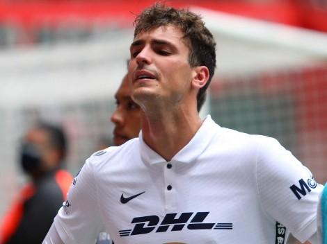 Insulto de Dinenno al árbitro lo lleva a la suspensión en la Liga MX y mete en problemas a Pumas
