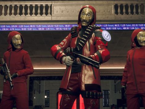 Watch Dogs Legion anuncia un crossover con La Casa de Papel