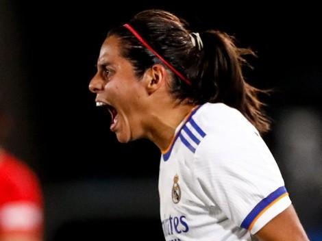 Kenti Robles hizo historia con su gol en Real Madrid en la Champions