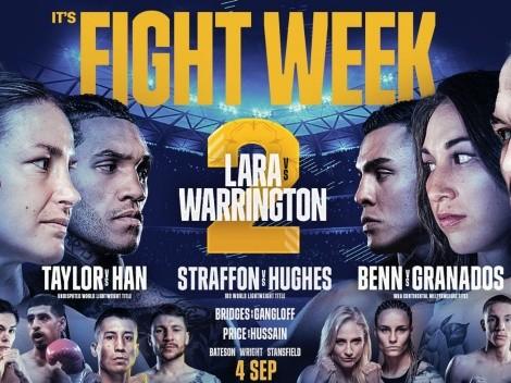 Mauicio Lara vs Josh Warrington: Cartelera completa del mega evento en Leeds