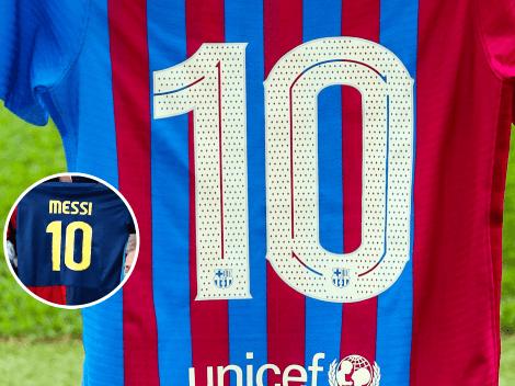 Histórico: Ansu Fati usará la 10 que dejó Leo Messi
