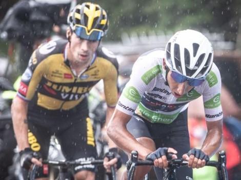 ¡Enorme, Egan! Luchó hasta el final en la etapa reina de la Vuelta a España