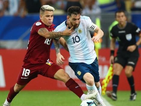 Eliminatorias: los XI probables del Venezuela-Argentina