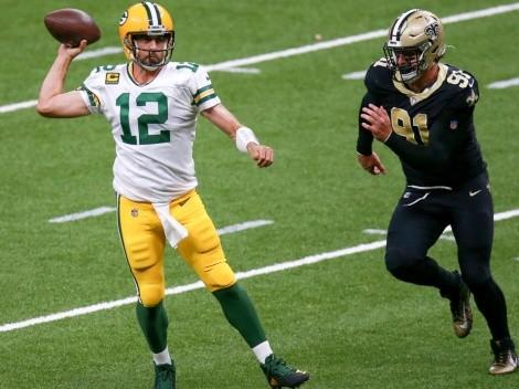 NFL cambia locación de juego de Saints vs. Packers