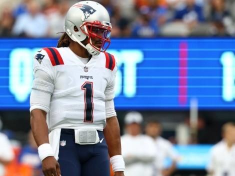 Descartan salida de Cam Newton de los Patriots por no vacunarse