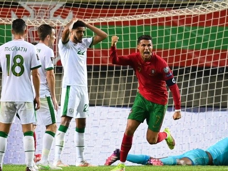 Cristiano Ronaldo marca dois, bate recorde mundial e Portugal vence a Irlanda pelas eliminatórias europeias para a Copa de 2022