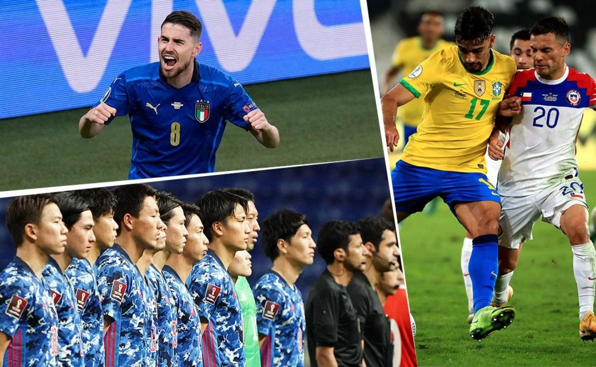 Eliminatorias rumbo a Qatar 2022 en todo el mundo: ¡todos los partidos de jueves!