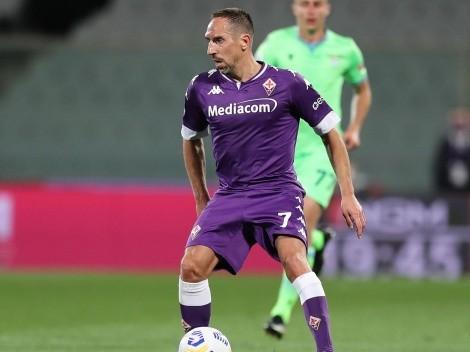 La vuelta de Ribéry a la Serie A se estanca