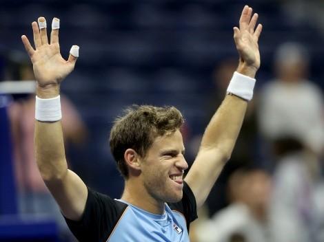 El encuentro menos pensado: Schwartzman celebró su triunfo en el US Open con una estrella de Hollywood