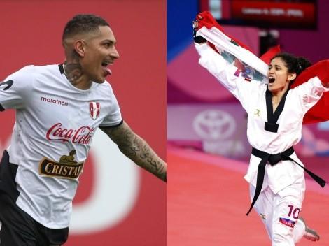 """Orgulloso"" el Capitán: Paolo Guerrero felicitó a Angélica Espinoza por oro en Tokio 2020"