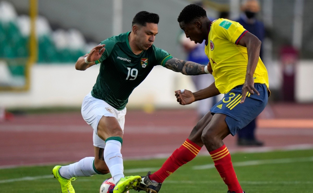 Bolivia and Colombia draw 1-1 on the road to Qatar 2022: Highlights and goals