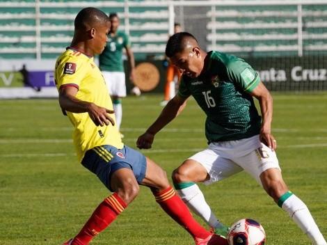 Colombia se ilusionó, pero al final empató con Bolivia, en La Paz
