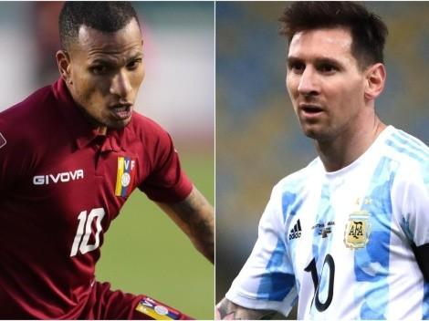Venezuela x Argentina: Prováveis escalações para o confronto da Eliminatórias da Copa do Mundo