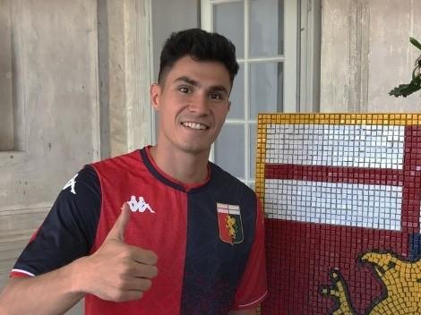 Hijo de exjugador de Cruz Azul será compañero de Johan Vásquez en el Genoa