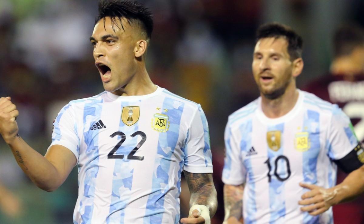 Argentina beat 10-man Venezuela 3-1: Highlights and Goals of 2022 World Cup Qualifiers