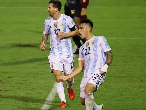 El campeón de América cumplió con la tarea: Argentina derrotó a Venezuela