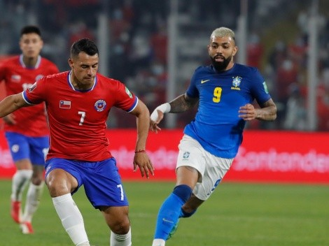 La amargura de Iván Morales tras la derrota ante Brasil