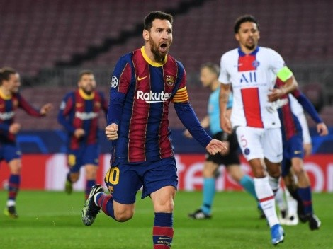 """Messi gana la Champions y vuelve al Barça"""