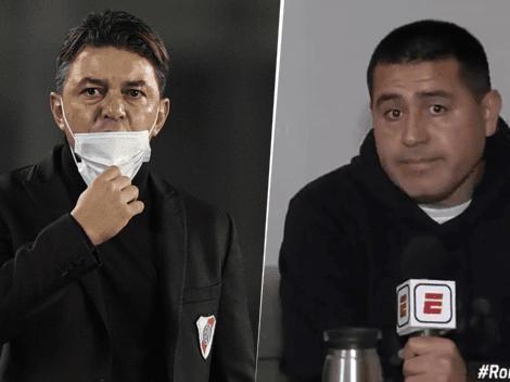 """Riquelme elogió a 2 jugadores del River de Gallardo: """"Siempre juegan bien"""""""