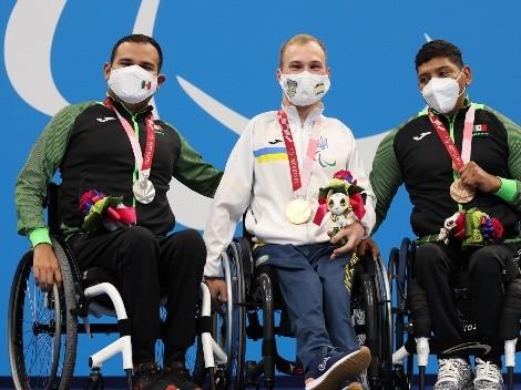 La para natación dejó tres medallas más en su última jornada