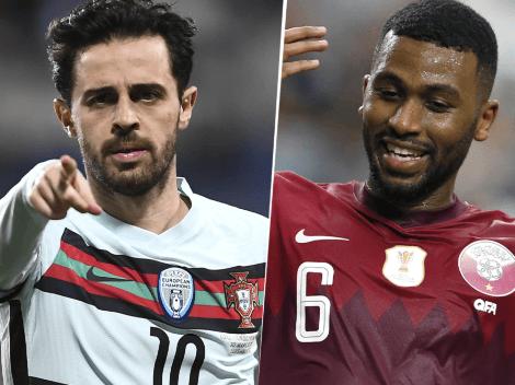 EN VIVO: Portugal vs. Qatar por un amistoso internacional