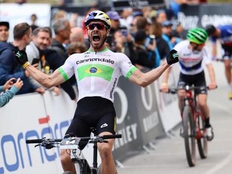 Avancini é campeão do short track da Copa do Mundo de MTB