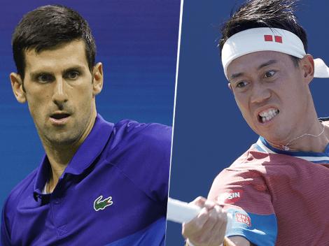 Cómo ver Novak Djokovic vs. Kei Nishikori   Hora y TV para mirar EN VIVO el partido por el US Open