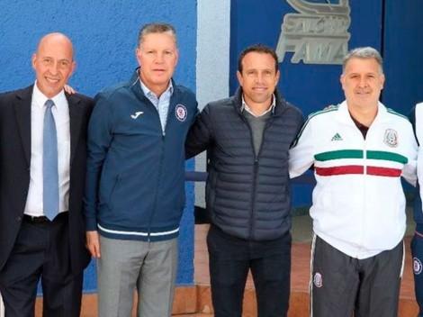 Se va de Cruz Azul más gente de 'Billy' Álvarez
