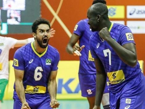 Brasil enfrenta Chile no Sul-Americano de vôlei masculino