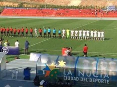El Tri sub 20 de Luis Pérez fue goleado por España sub 19