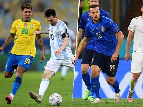 Mucho fútbol: partidos de domingo por las Eliminatorias en todo el mundo