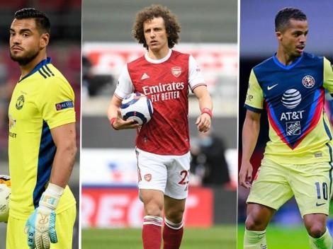 El 11 ideal de los reconocidos jugadores que están como agente libre
